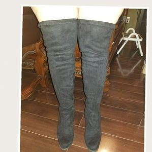 Size 10 A.N.A microfiber over the knee boots